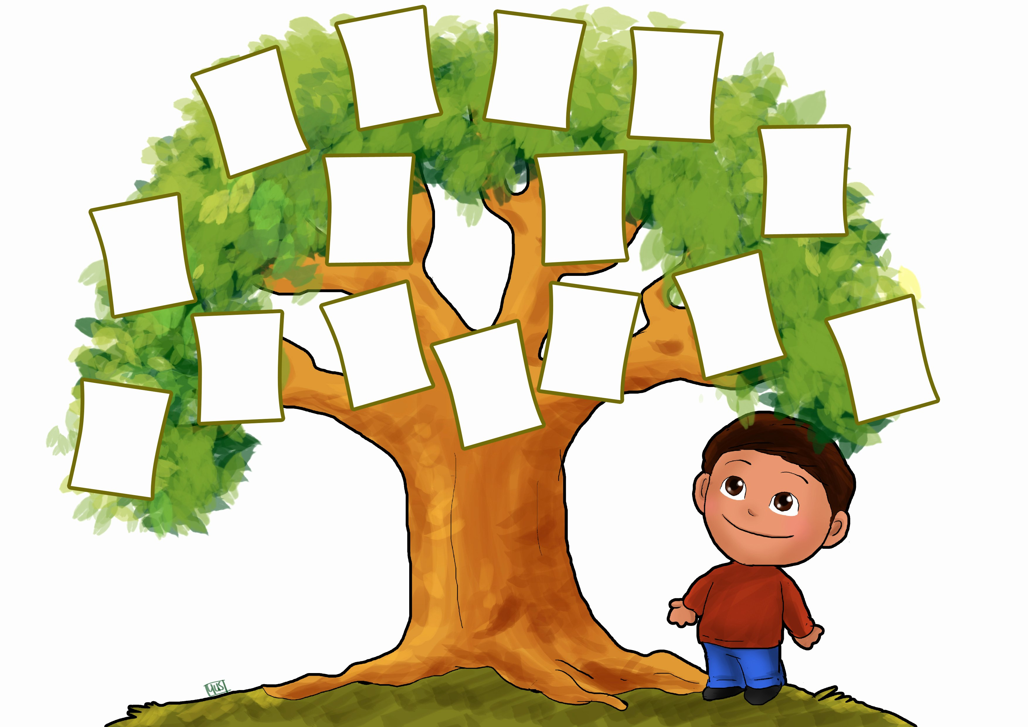 Pictures Of Family Trees Elegant Free Family Tree Clipart Clipartix