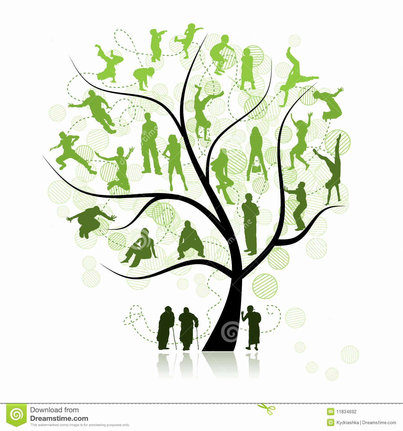 Pictures Of Family Trees Lovely Family Tree Relatives Stock Vector Illustration Of Environment