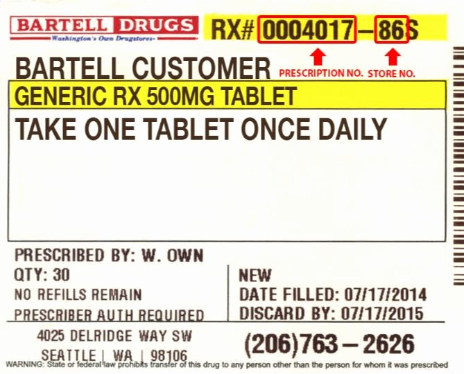 Pill Bottle Label Template Best Of the Anatomy Of A Prescription Label the Honest Apothecary