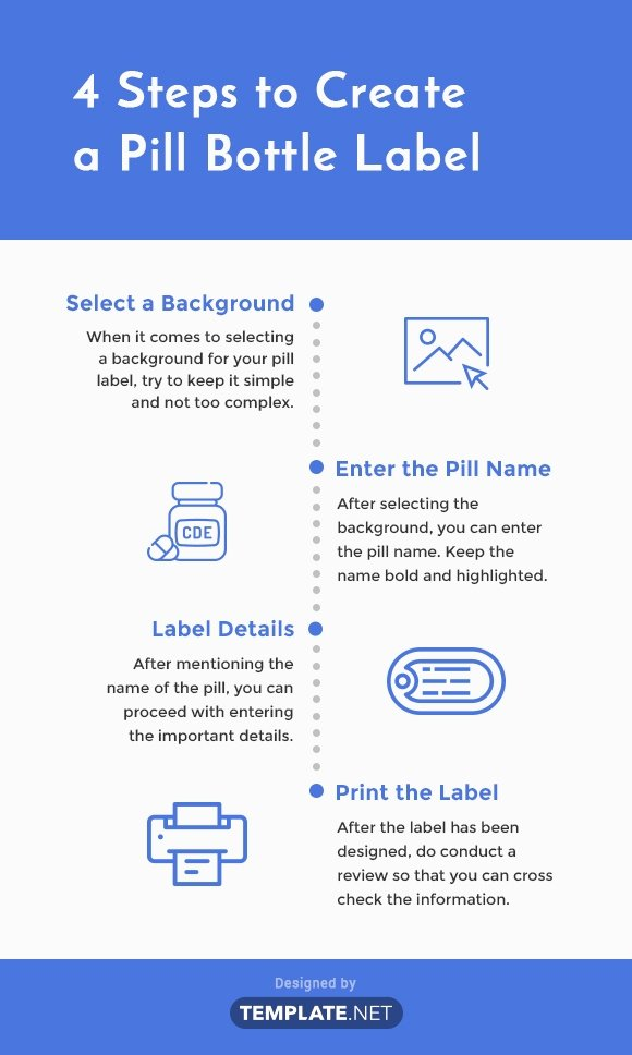 Pill Bottle Label Template Unique 6 Pill Bottle Label Templates Word Apple Pages Google Docs