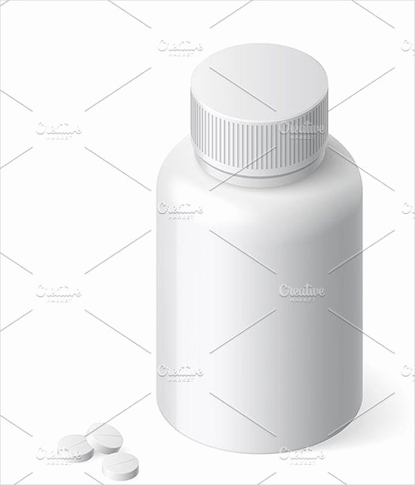 Pill Bottle Labels Templates Beautiful 6 Pill Bottle Label Templates Word Apple Pages Google Docs