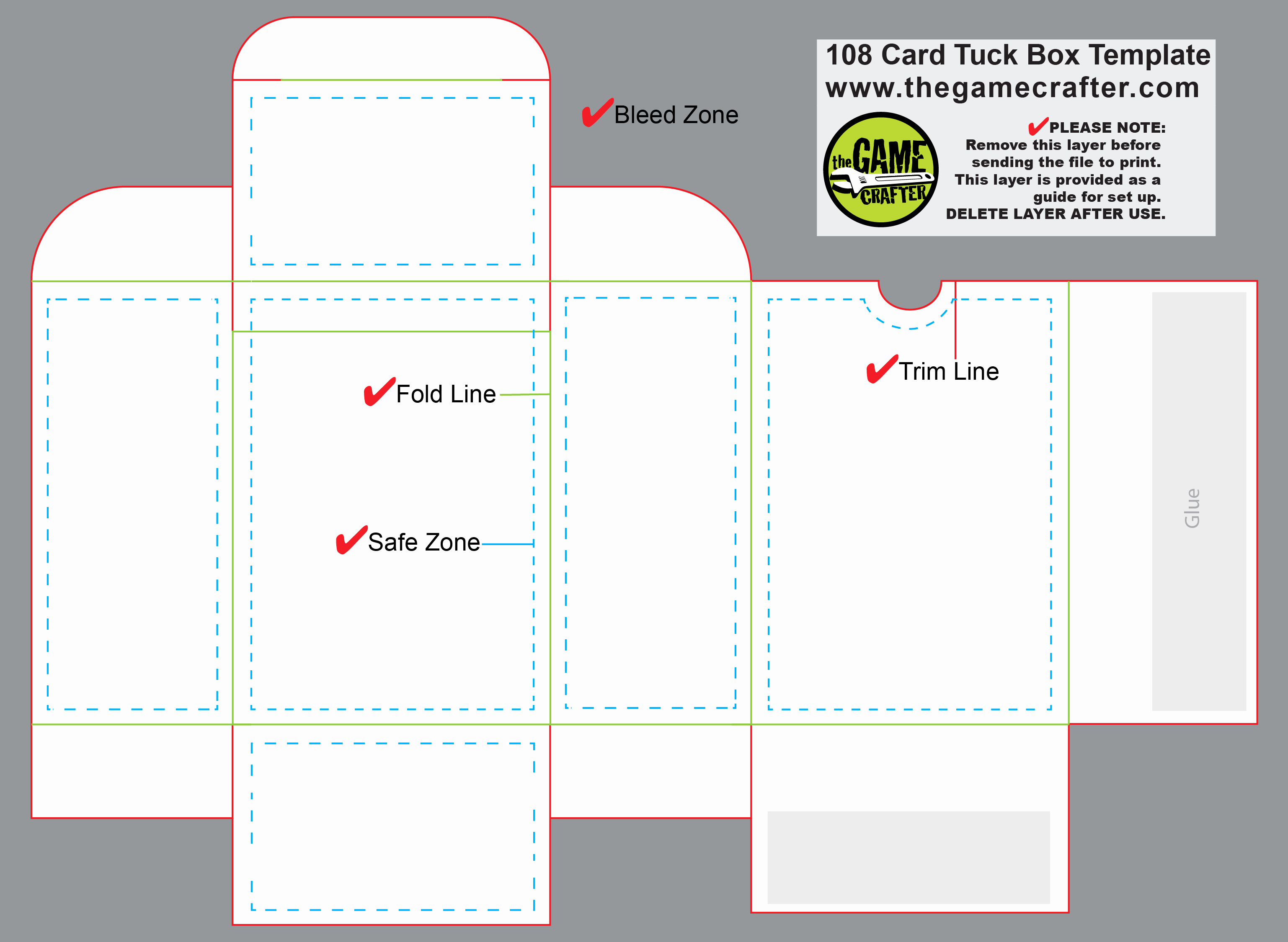 Playing Card Template Photoshop Fresh Poker Tuck Box 108 Cards