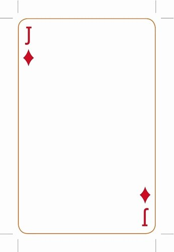 Playing Card Template Photoshop Luxury Playing Card Template