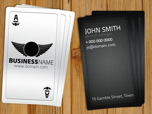 Playing Card Template Photoshop Unique Playing Card Business Card Free Template by Hotpindesigns On Deviantart