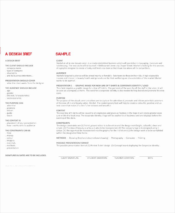 Policy Brief Template Download Luxury 20 Brief Templates and Examples Pdf