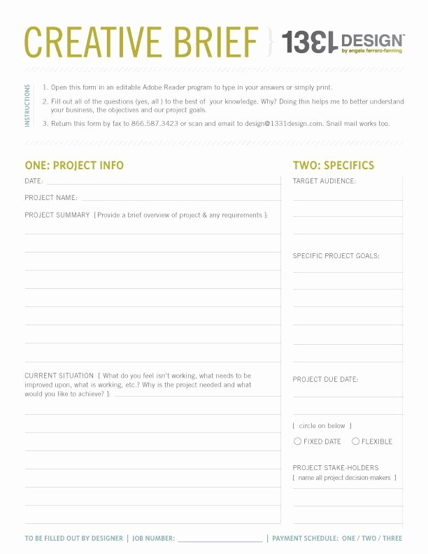 Policy Brief Template Microsoft Word Awesome Creative Brief Template