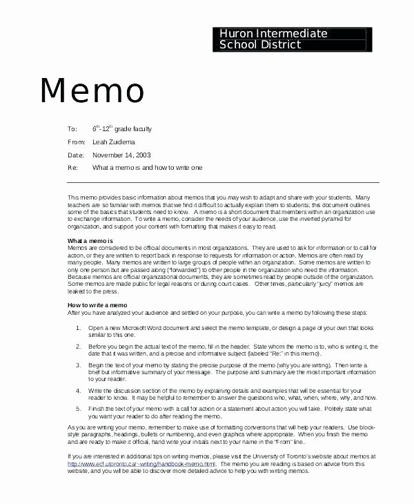 Policy Brief Template Microsoft Word New Sample Policy Memo format Business Examples Memos Writing Example