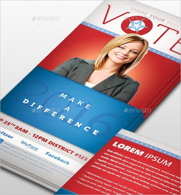 Political Palm Card Template Best Of 14 Palm Card Templates Psd Ai Vector Eps