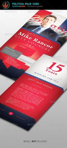 Political Palm Card Template Luxury Card Templates Palms and Templates On Pinterest