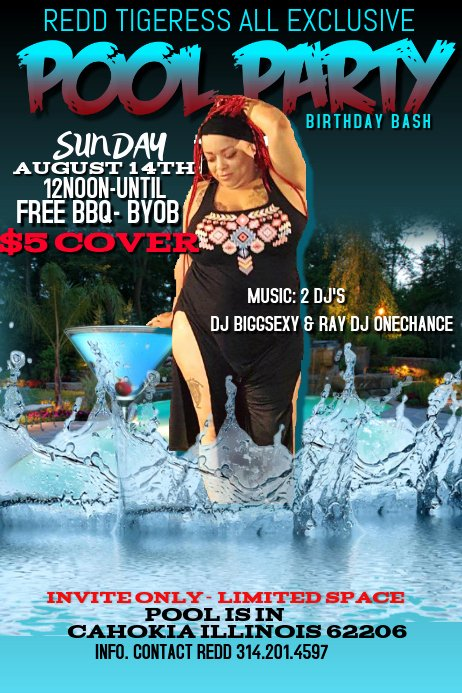 Pool Party Flyers Templates Best Of Copy Of Pool Party