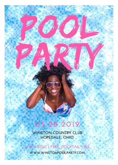 Pool Party Flyers Templates Inspirational Customize 172 Party Flyer Templates Online Canva