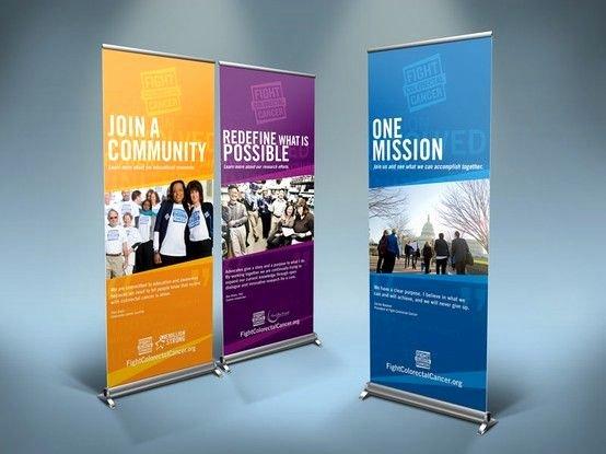 Pop Up Banner Designs Inspirational Banner Design for Fight Colorectal Cancer organization Web Design