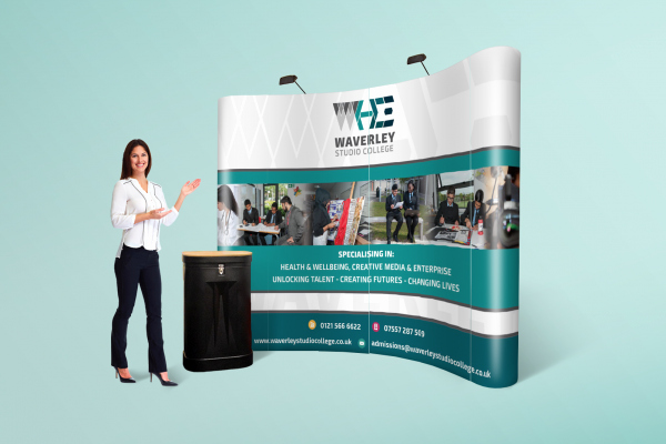 4 x 3 pop up stand