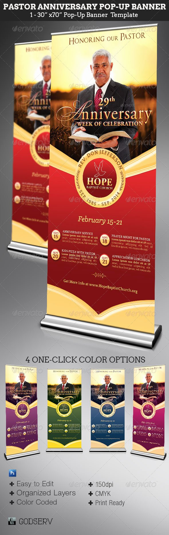 Pop Up Banner Template Awesome Wording for formal attire Pastor Anniversary Gala Ticket with No Children Dondrup