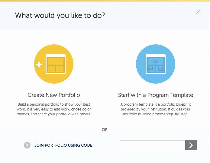 Portfolio Title Page Template New Create Your Portfolio Pathbrite User Guide 1