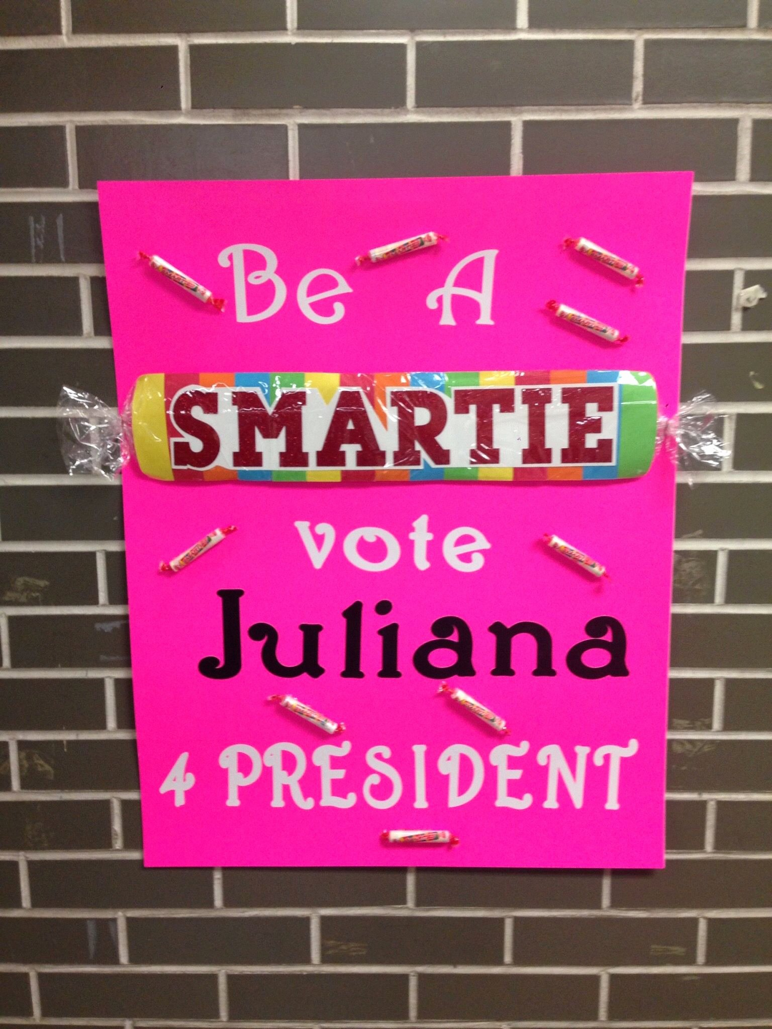 Posters for Student Council Elegant Pin On Juliana
