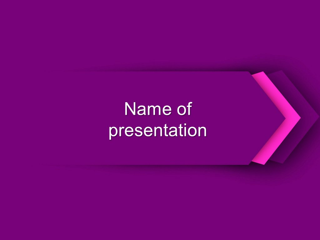 Powerpoint Background Image Free Download Best Of Download Free Purple Direction Powerpoint Template for Presentation