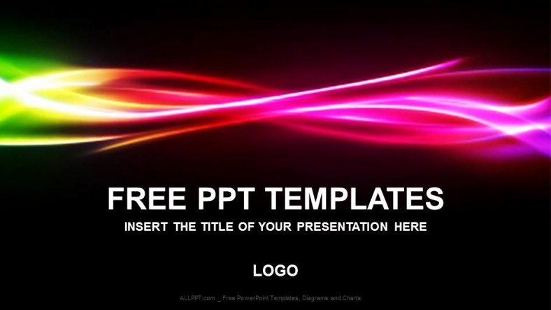Powerpoint Background Image Free Download Luxury Free Rainbow Abstract Powerpoint Templates Download Free Daily Updates