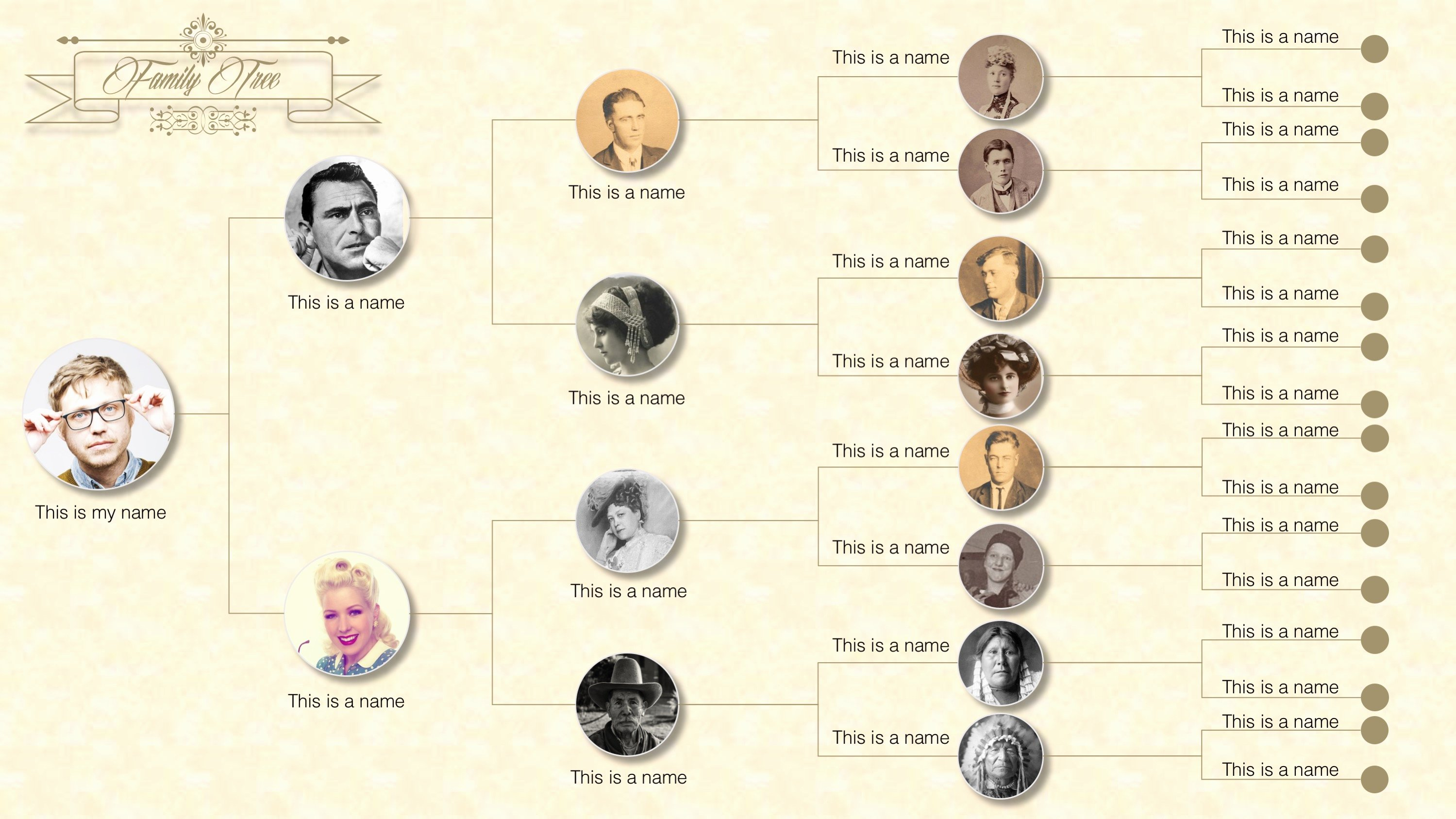 Powerpoint Family Tree Template Best Of Family Tree Powerpoint Templates Slidemodel