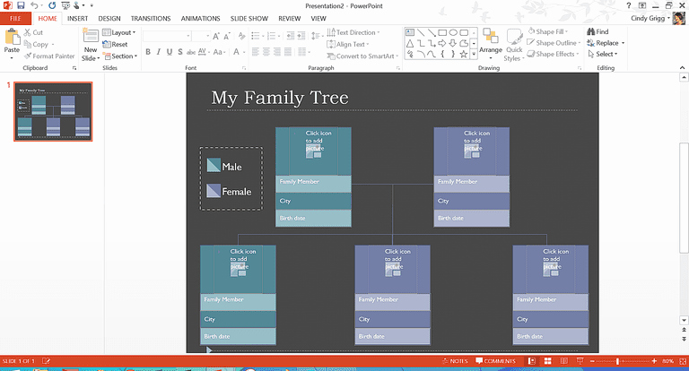 Powerpoint Family Tree Template Inspirational organization Boost Templates and Printables for Families