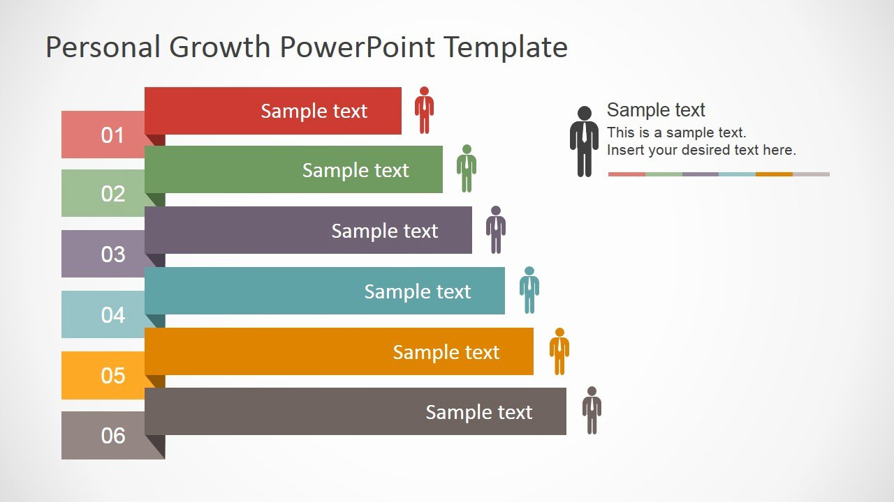 Powerpoint Presentation Outline Template New Personal Growth Plan Outline for Powerpoint Slidemodel