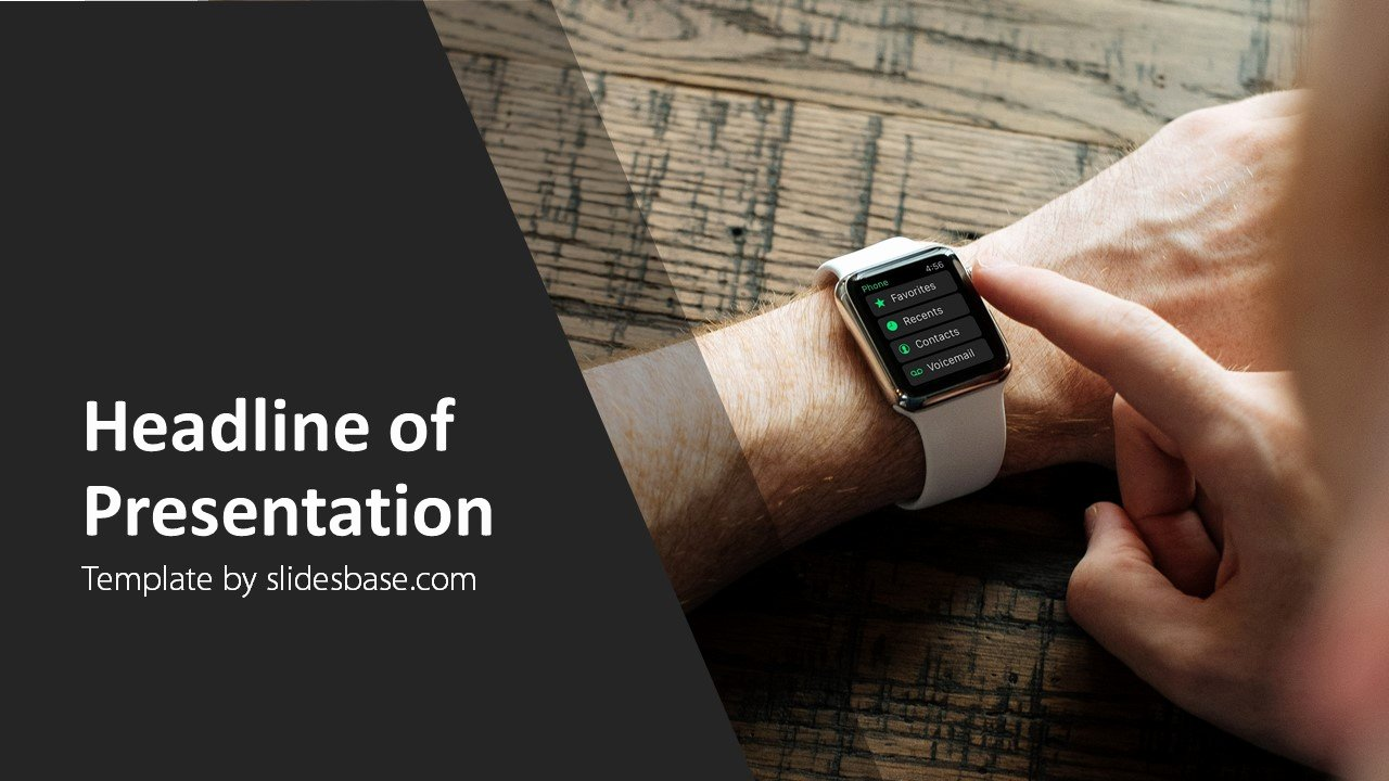 Powerpoint Templates for Mac Awesome Smartwatch – Powerpoint Template