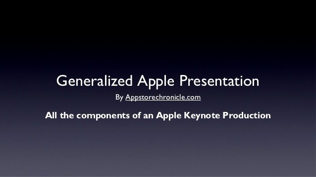 "Powerpoint Templates for Mac Beautiful A Generic Apple ""steve Jobs"" Style Keynote Address Presentation"