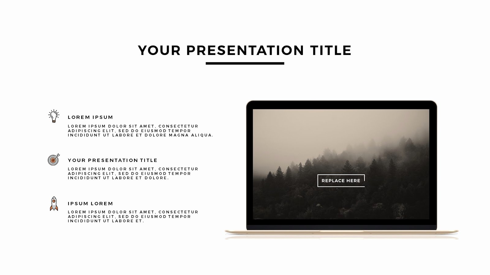 Powerpoint Templates for Mac Inspirational Apple Devices Mockups Free Powerpoint Template Infographicon