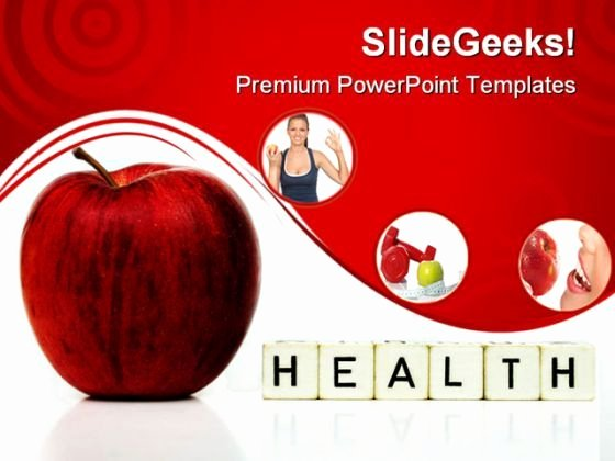 Powerpoint Templates for Mac Lovely Red Apple Health Powerpoint Templates and Powerpoint Backgrounds 0211