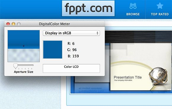 Powerpoint Templates for Mac Lovely Using A Color Picker or Eye Dropper In Powerpoint 2011 for Mac