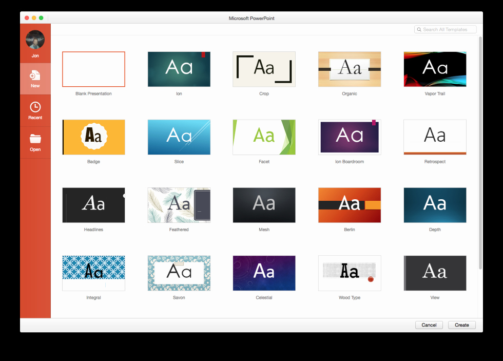 Powerpoint Templates for Macs Lovely A Quick Hands On with Fice 2016 for Mac