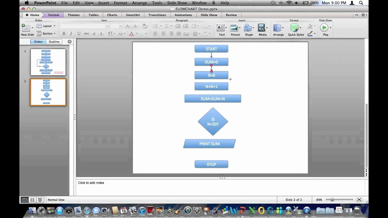 Powerpoint Templates for Macs Unique Creating Flowchart In Powerpoint 2011 Mac
