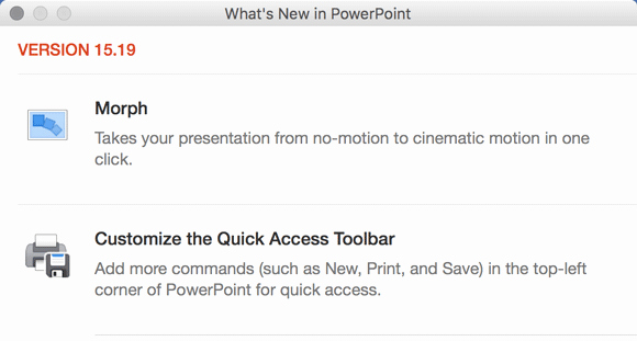 Powerpoint Templates for Macs Unique What S New In Powerpoint 15 19 for Mac