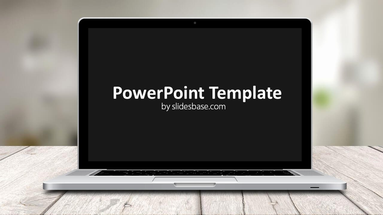 Ppt Templates for Mac Beautiful Laptop Screen Powerpoint Template