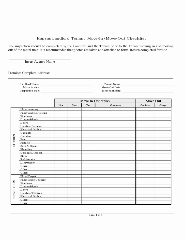 Pre Construction Checklist Template Beautiful Image Result for Move Out Inspection Checklist for Construction Contract Rental