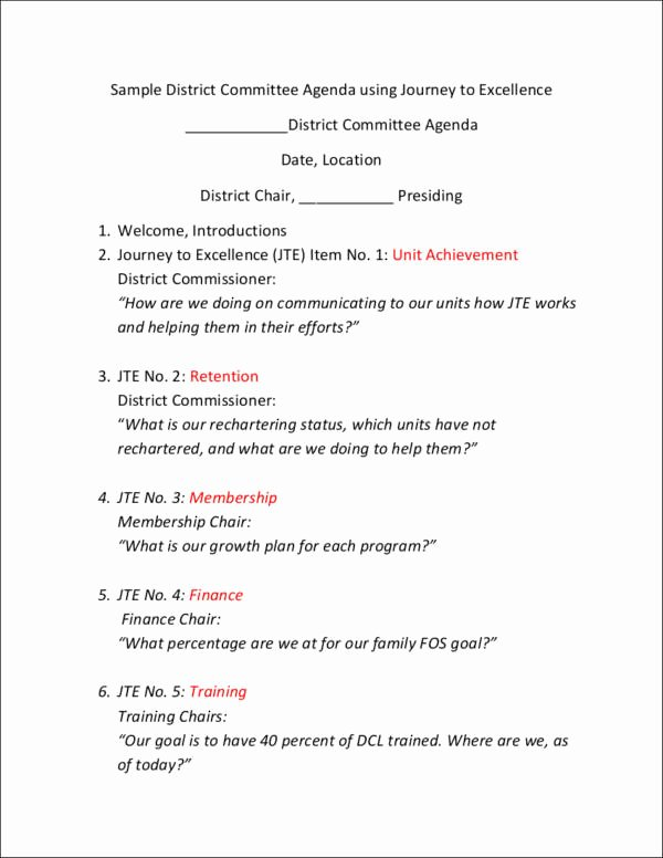 Pre Construction Meeting Agenda Template Luxury Free 14 Meeting Agenda Samples & Templates