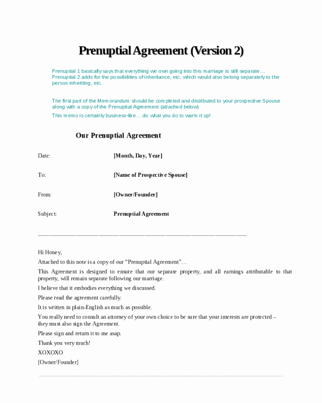 Prenuptial Agreement form Pdf New 2019 Prenuptial Agreement form Fillable Printable Pdf & forms
