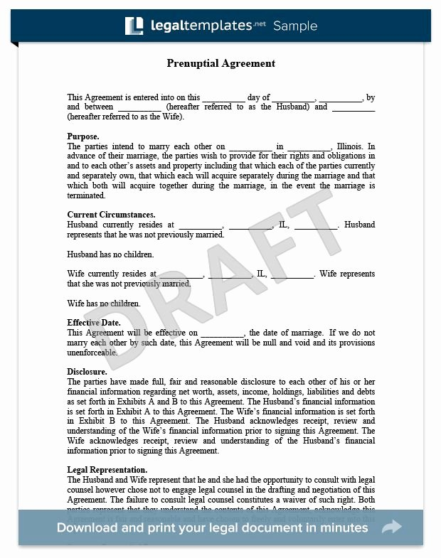 Prenuptial Agreement Sample Pdf Awesome Prenuptial Agreement Sample for More Information On Prenuptial and Antenuptial Agreements