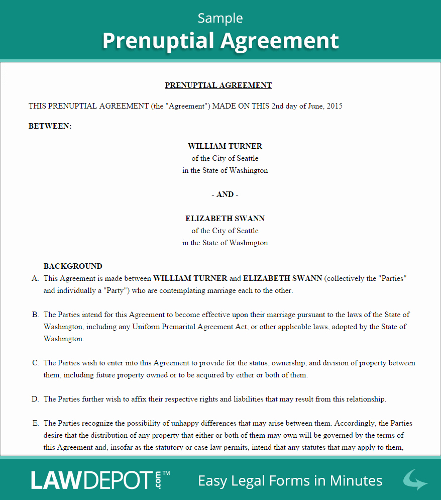 Prenuptial Agreement Sample Pdf Awesome Prenuptial Agreement Sample Wedding Planning In 2019