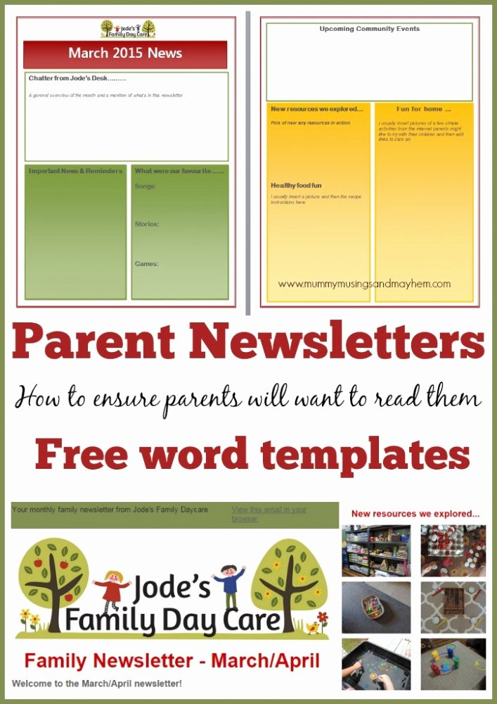 Preschool Newsletters for Parents Inspirational Writing Effective and Interesting Newsletters for Parents the Empowered Educator