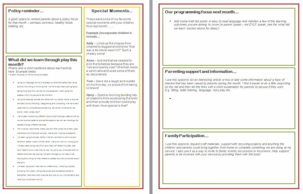 Preschool Newsletters for Parents Luxury Writing Effective and Interesting Newsletters for Parents the Empowered Educator