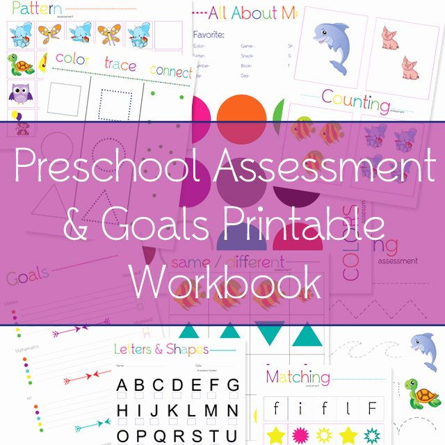 Preschool Teacher Evaluation form Luxury 9 Best Of Free Printable Preschool Evaluation forms