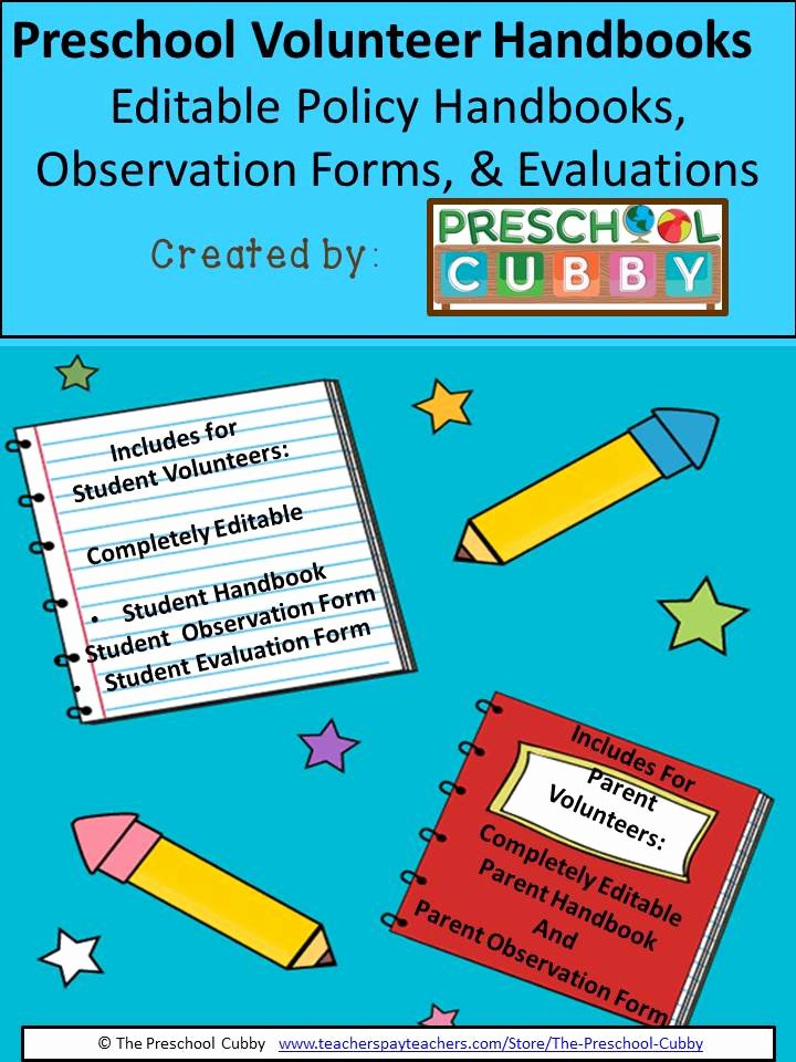 Preschool Teacher Evaluation forms Inspirational Parent Observations for Preschool Parent Volunteers Preschool Plan It