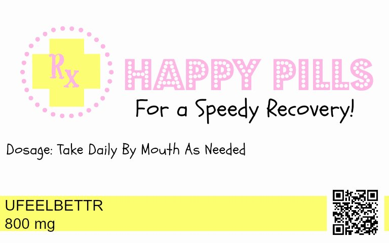 Prescription Bottle Label Template New Happy Pills and Chill Pills Free Printable Labels Mother S Niche