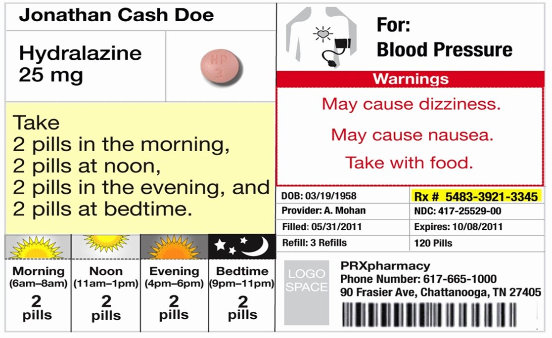Prescription Label Template Download Beautiful Changes In Prescription Labels Could Cut Down Confusion Save Lives
