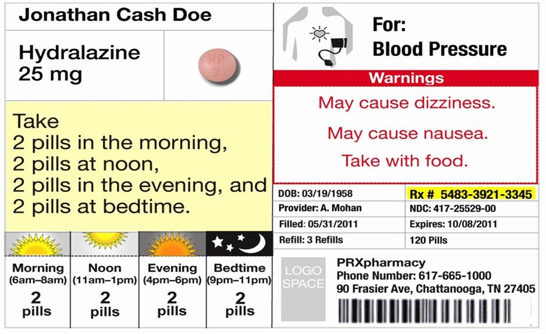 Prescription Label Template Download Beautiful Changes In Prescription Labels Could Cut Down Confusion Save Lives