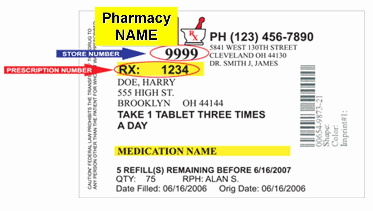 Prescription Label Template Download Elegant Changes In Prescription Labels Could Cut Down Confusion Save Lives