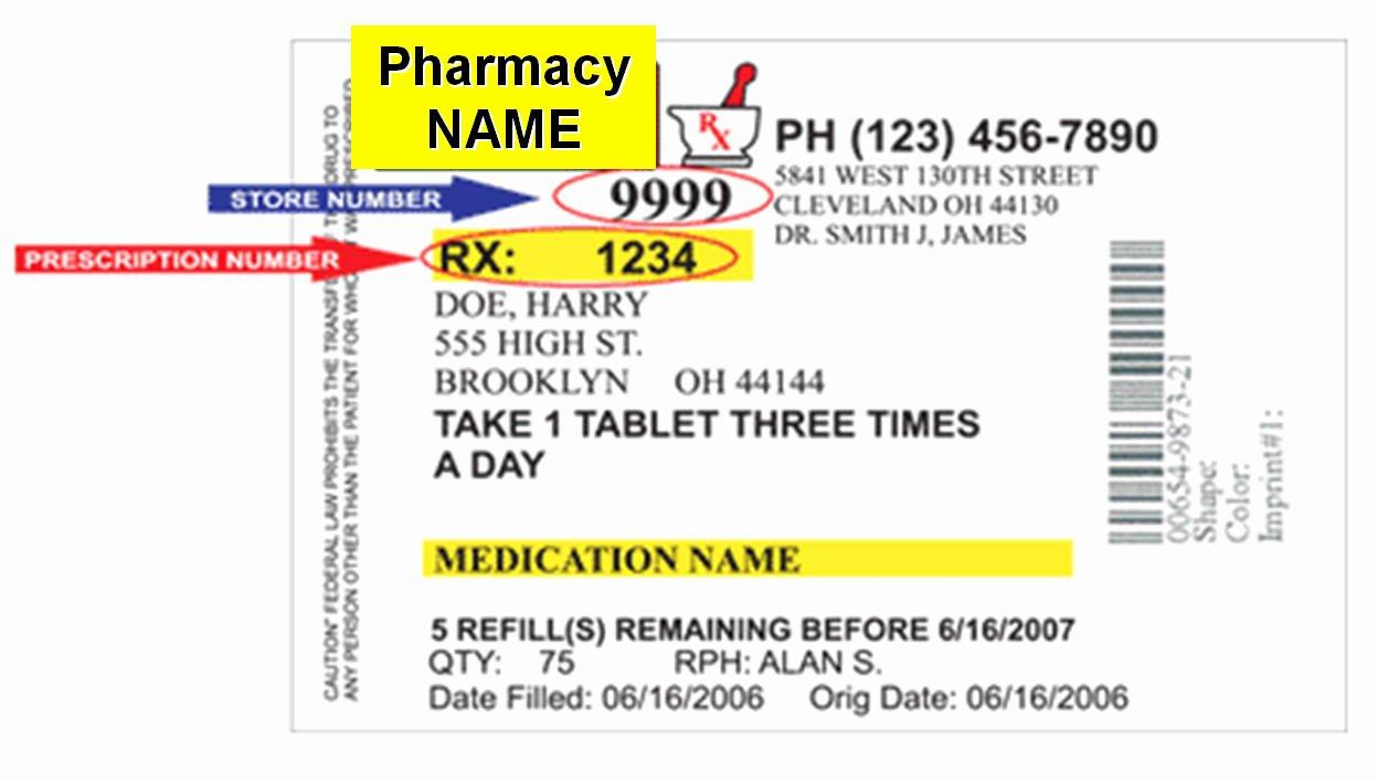 Prescription Label Template Download Elegant Changes In Prescription Labels Could Cut Down Confusion Save Lives