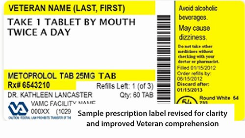 Prescription Label Template Download Inspirational Healthpower Prevention News Winter 2016 Prescription Labels National Center for Health