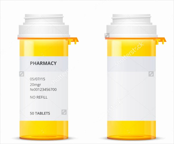Prescription Label Template Microsoft Word New Medicine Label Template